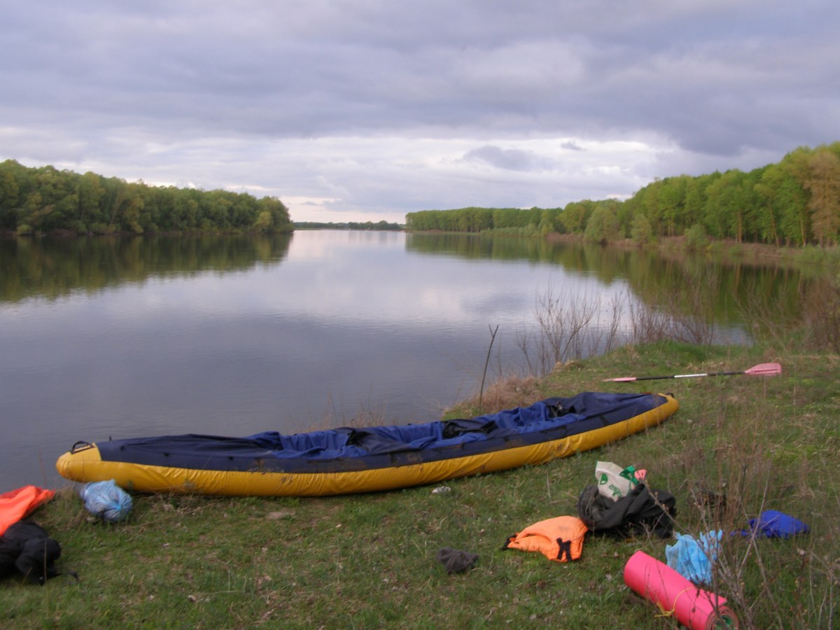Go kayaking on Desna river