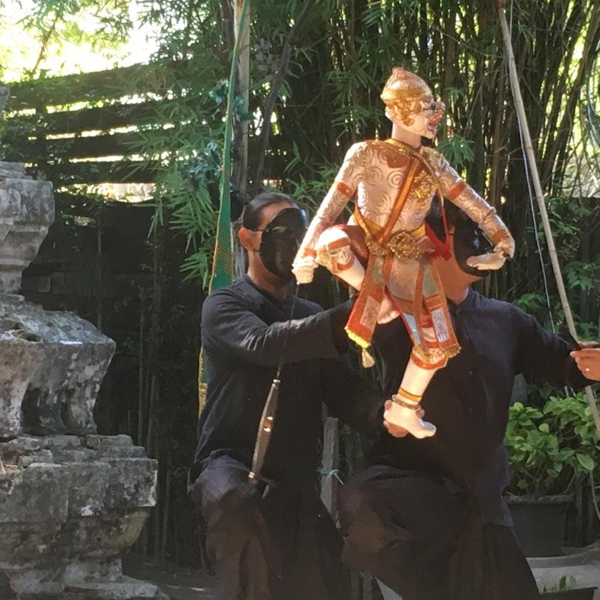 puppet show Khlong Bangluang
